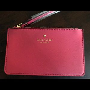 NEW HOT PINK CEDAR STREET KATE SPADE WRISTLET